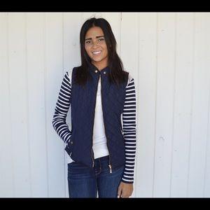 Jackets & Blazers - Quilted vest